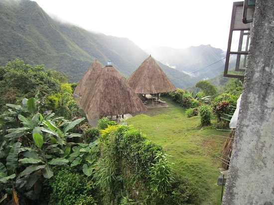 Batad, Philippinen: Native huts accomodation