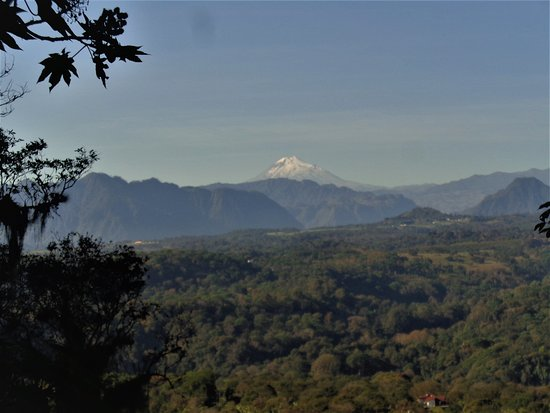 Xico, Mexico: As you climb Acatepetl, you can see a beautiful view of the volcano Orizaba.