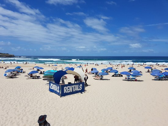 Bondi, Australia: 2nd hire location on the south side