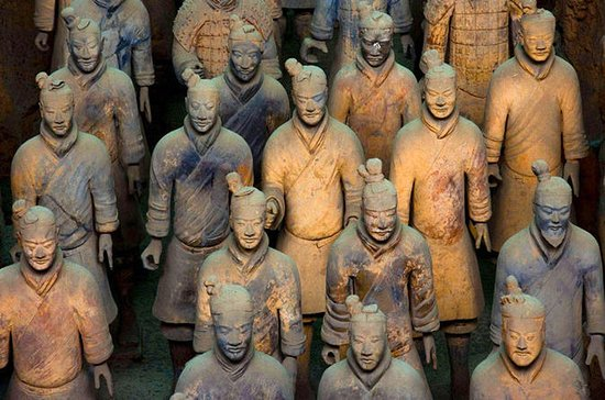 Terracotta Army, Great Mosque, and City Wall in Xian Full-Day