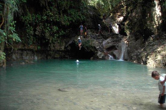 Waterfalls of Damajagua from Puerto...