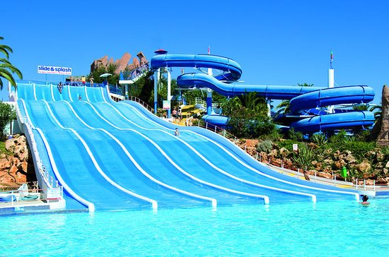 Full-Day Slide & Splash Water Park...