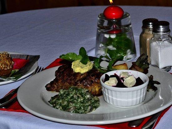 Haga Haga, Sudáfrica: Great cuisine