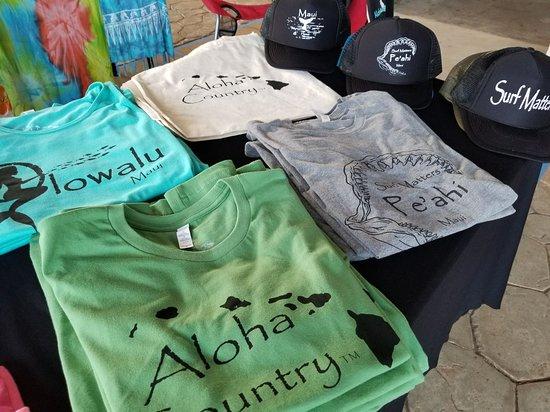 Paia, HI: Aloha Cowgirl - Designed and printed on Maui. Tshirts, tank tops, sweaters, hats, bags, lava roc