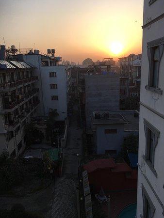 Samsara Resort: Sunrise from my hotel room