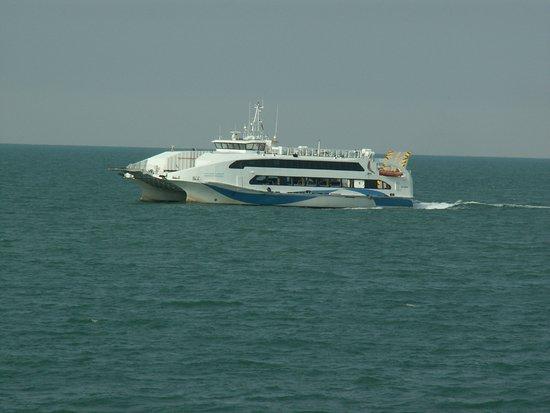 Masirah Island, Oman: the new ferry