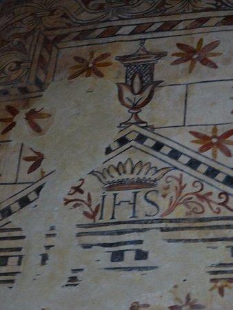 Iglesia Santo Tomas de las Ollas: Frescos