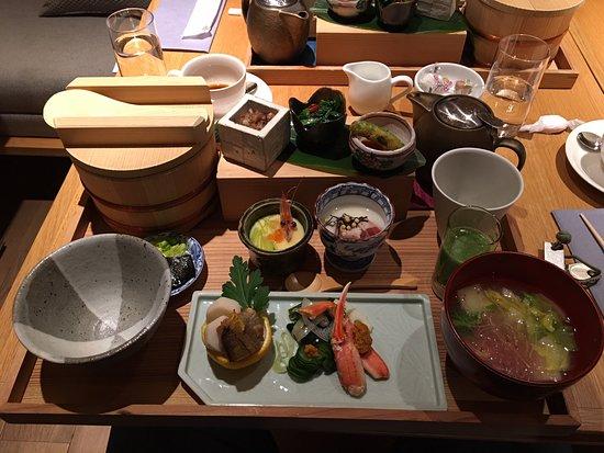 Hotel Kanra Kyoto : Breakfast - Japanese style
