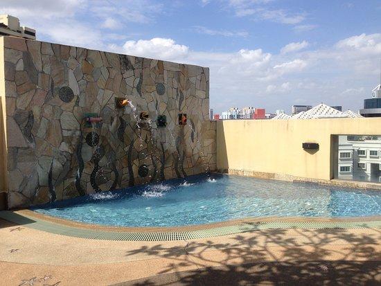 Somerset Bencoolen: Kiddie pool.