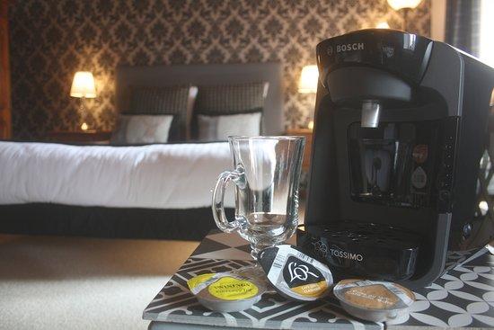 Auzelles, فرنسا: machine à café Tassimo