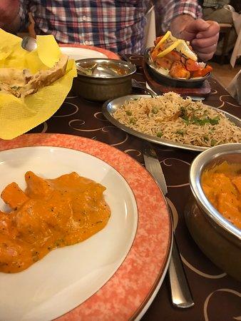 Sabor da India: Chicken makhani.