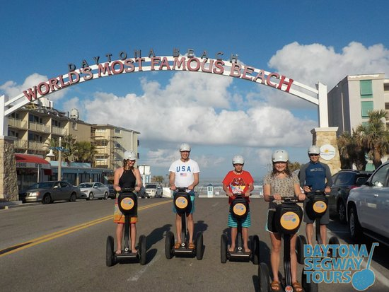 Daytona Segway Tours Join Us On The Worlds Most Famous Beach With