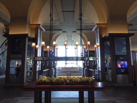 Grand Hyatt Seoul: 高大的大廳
