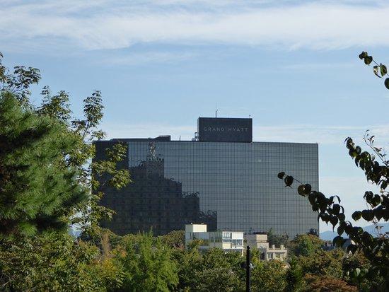 Grand Hyatt Seoul: 飯店的遠觀