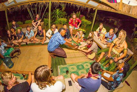 Korovisilou, Fiji: Kava Ceremony