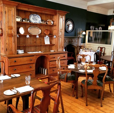 The Old Bell Hotel Newly Refurbished Dining Room