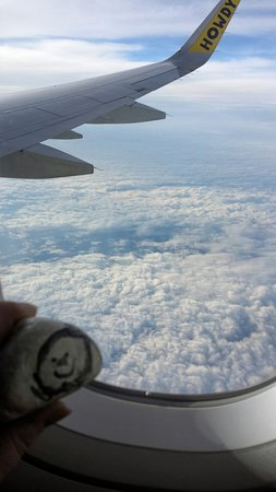 Dwayne Nickys Rock Looking Out The Window Above The Clouds