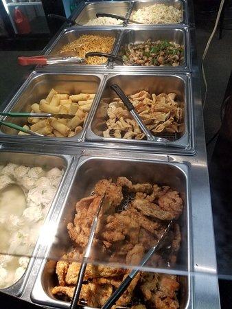 Edson, Canada: Take out menu, salt pepper shrimp and pork chop is the best