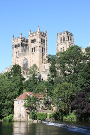Durham Durham Cathedral Seen From The River Wear Picture Of