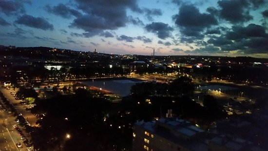 Scandic Hotel Opalen: Utsikt över Heden från rummet.