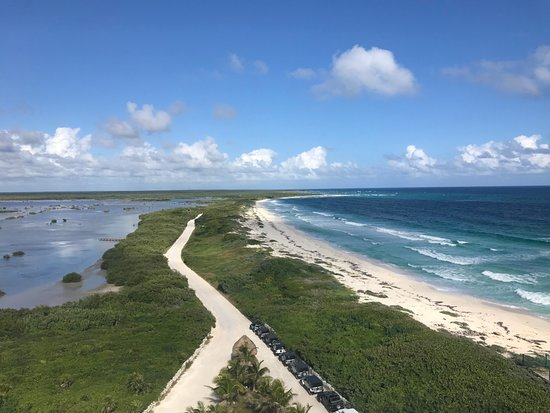 Punta Sur Eco Beach Park: View from the lighthouse