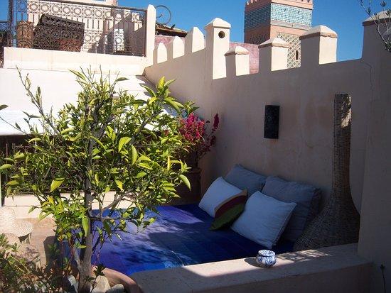 terrazza arredata - Bild von Riad Amin, Marrakesch - TripAdvisor