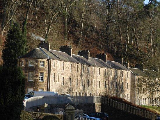 New Lanark World Heritage Village: Accomodation