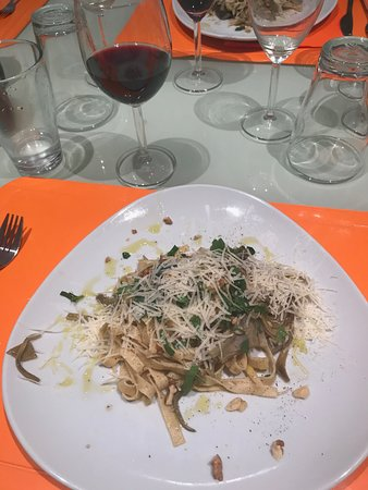 Giglio Cooking Day Course : The pasta dish.