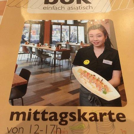 Bok: Nettes asiatisches Restaurant, mit einer tollen Auswahl an landestypischen Gerichten