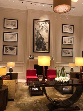 The St. Regis Osaka: Uno de los halls del hotel