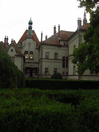Karpaty, Ukraina: замок Шенборна