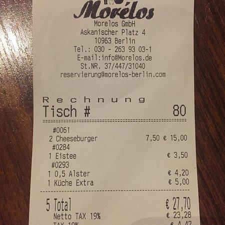 Morelos Picture Of Morelos Berlin Tripadvisor