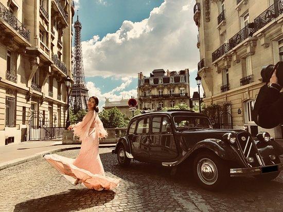 City Wheels Paris Tours Photoshoot Vogue Magazine