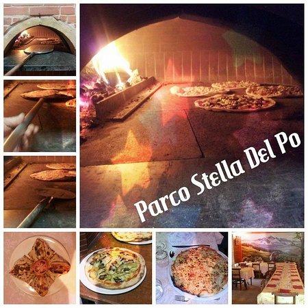 Paesana, Italië: collage sulle nostre pizze e locali