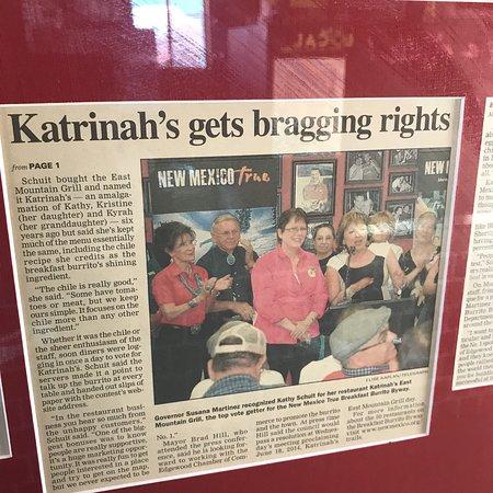 Edgewood, NM: Katrinah's East Mountain Grill