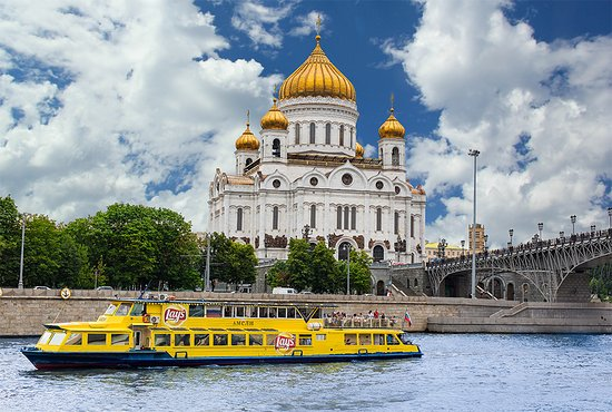 Moscow River Boat Tours