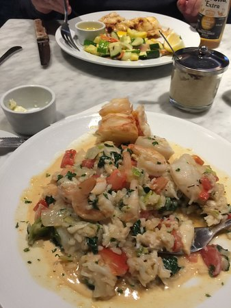 Dock's Oyster House: Seafood risotto