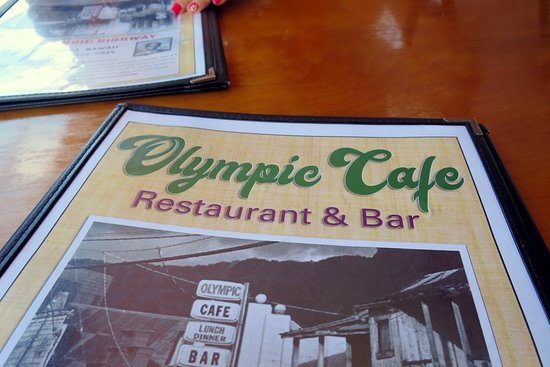 Olympic Cafe: Long time history