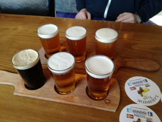 Watermill Inn & Windermere Brewing Co : Dog'th Vader, Collie Wobbles, Golden Retriever, A Bit'er Ruff & Isle of Dogs (No Particular Orde