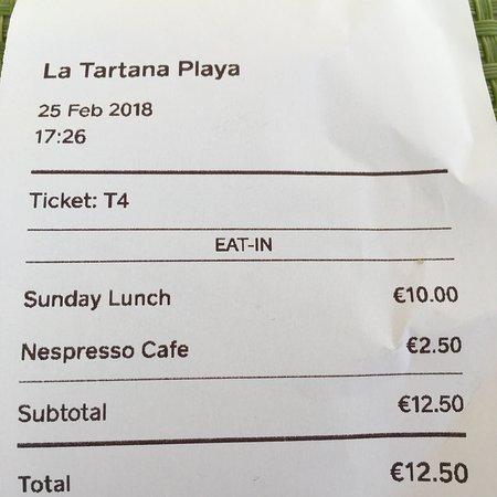 La Tartana Restaurant La Herradura