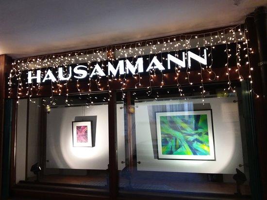 Cortina D'Ampezzo, Italia: Galleria Hausammann