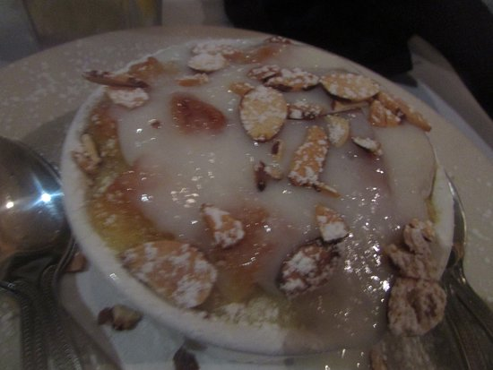 Redfish Seafood: Butter Bread Pudding
