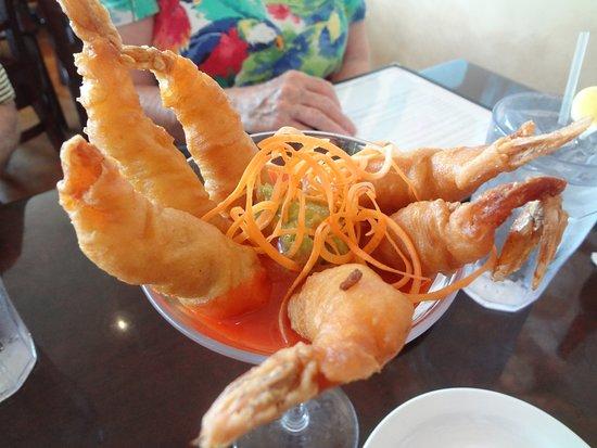 Redfish Seafood: Tempura Fried Shrimp