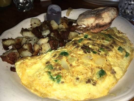 Mendon, VT: Mexican Omelet