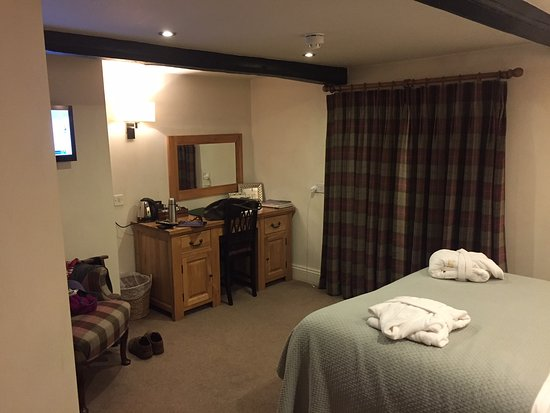 Helperby, UK: En suite bedroom