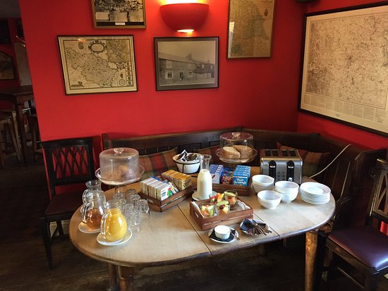 Helperby, UK: Breakfast buffet