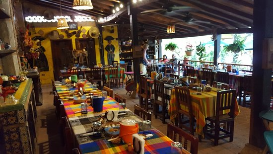El Quelite, Mexico: Indoor Seating