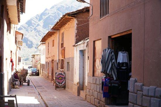 Pisac Market: Pisac street