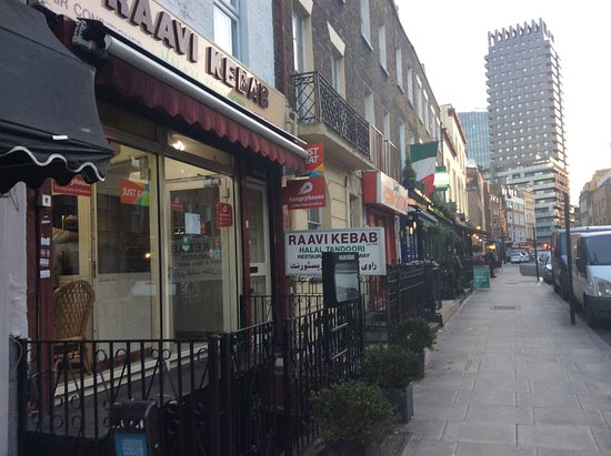 Raavi Kebab: On Drummond Street