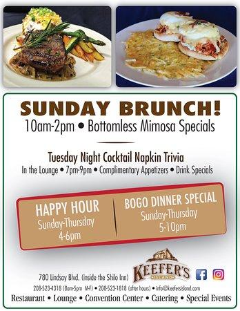 Keefer S Island Restaurant And Catering Idaho Falls Best Kept Secret